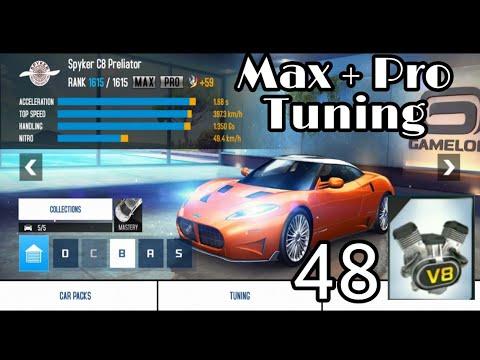 Asphalt 8 - Spyker C8 Preliator | Max Pro Tuning Upgrade