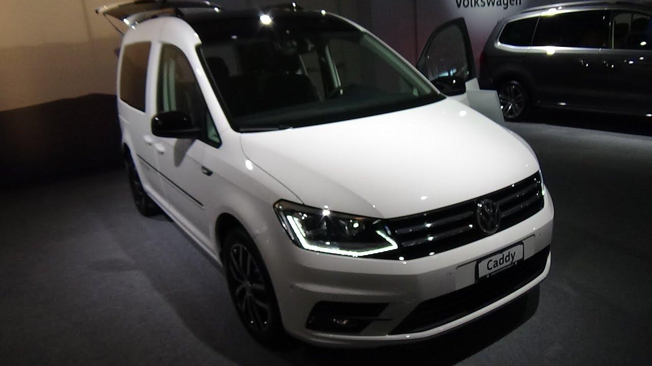 2018 Volkswagen Caddy Comfortline Edition Exterior And Interior