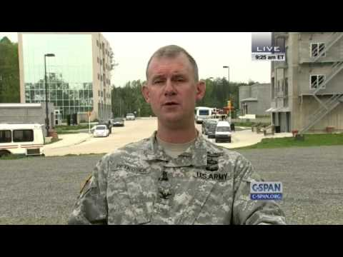 CSPAN Fort AP Hill Training Center, Callers - Full