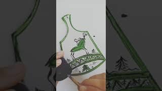 Мастер-класс росписи по дереву «Мезенская роспись»