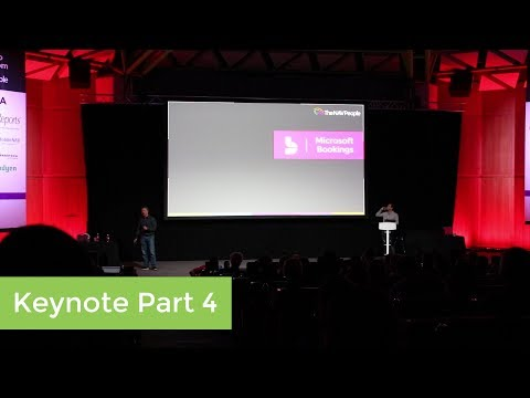 User Day 2017 Keynote Part 4: Microsoft Bookings