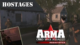 """ARMA: Resistance (Operation Flashpoint: Resistance) Mission 8 """"Hostages"""""""