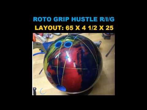 roto grip hustle ink. Roto Grip Hustle R/I/G Ball Review Ink L