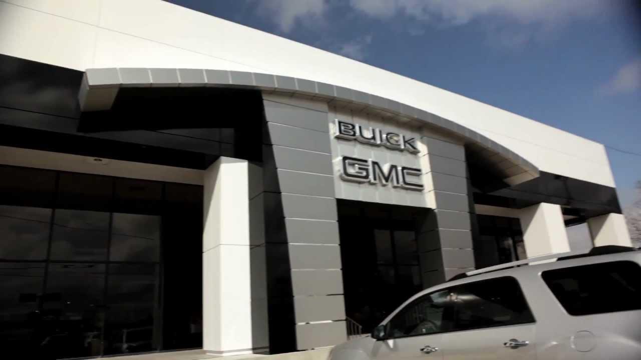 buildings buick building dealership construction metal future helps family design main business gmc