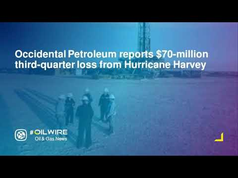 Occidental Petroleum reports $70-million third-quarter loss from Hurricane Harvey
