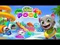 Talking Tom Angela Hank & Ben Swimming Pool Water Park Adventure iPad Gameplay for Kids