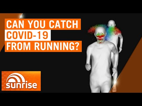Coronavirus: Can you catch COVID-19 while running? | 7NEWS