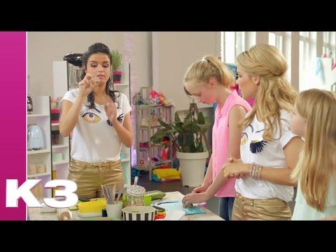 Sushi Boterham maken met Marthe - Iedereen K3