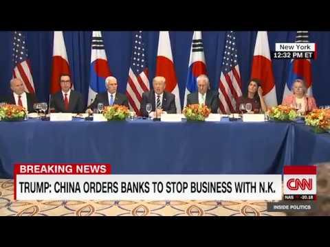 Trump's new N. Korea sanctions (full speech)