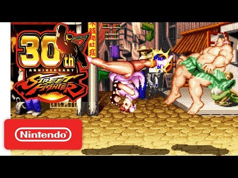 Street Fighter 30th Anniversary Collection - Exclusive Tournament Battles Trailer - Nintendo Switch