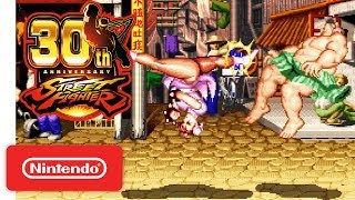 Street Fighter 30th Anniversary Collection - Exclusive Tournament Battles Trailer - Nintendo Switch thumbnail
