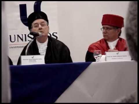 Discurso de Carlos Cirne-Lima pelo título de professor emérito da Unisinos
