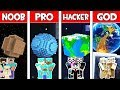 Minecraft NOOB vs PRO vs HACKER vs GOD: FAMILY PLANET in Minecraft Animation