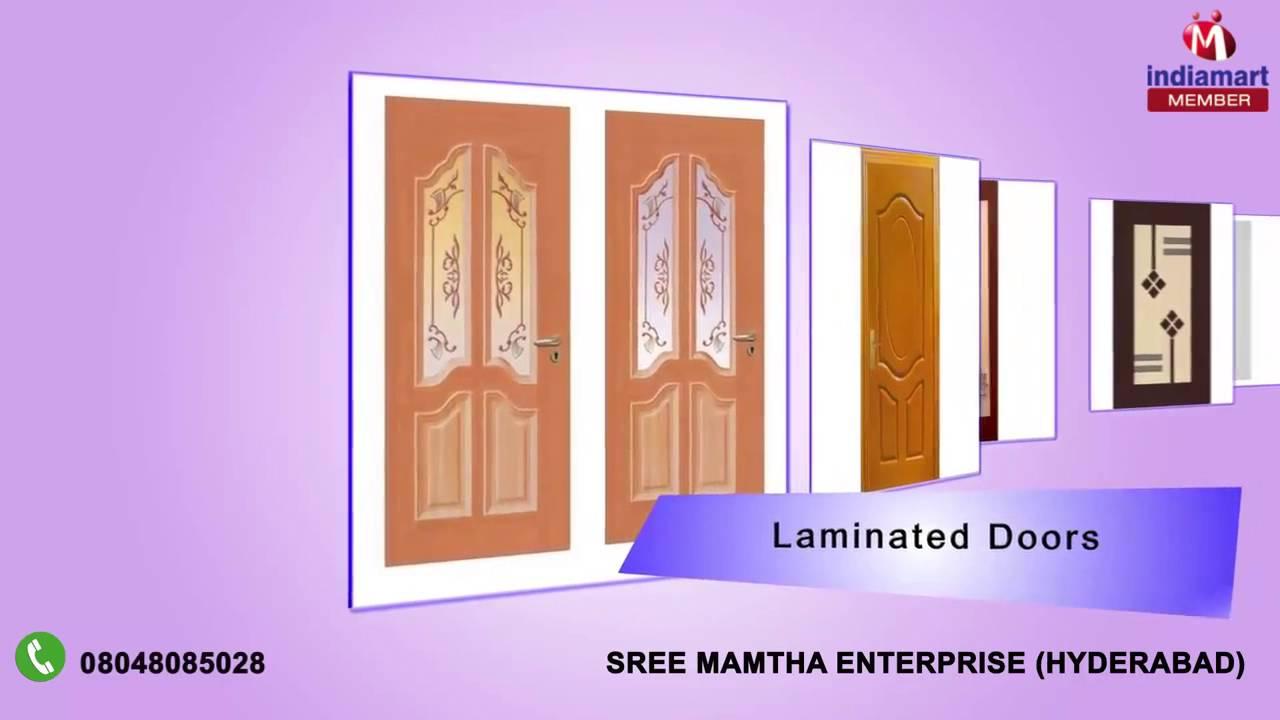 Pvc kitchen cabinet in hyderabad telangana india indiamart - Membrane And Flush Doors By Sree Mamtha Enterprise Hyderabad