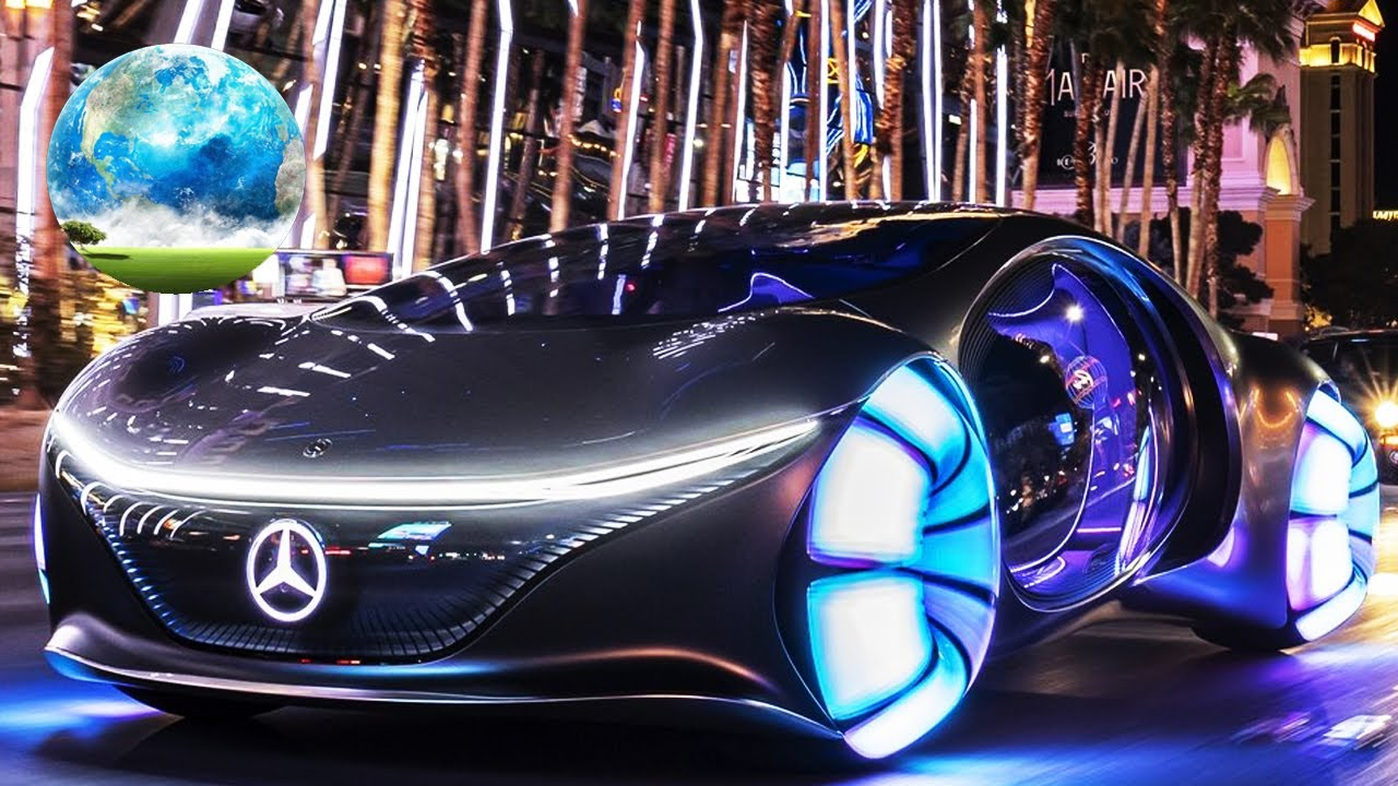 Futuristic Mercedes Drives Sideways | AVTR