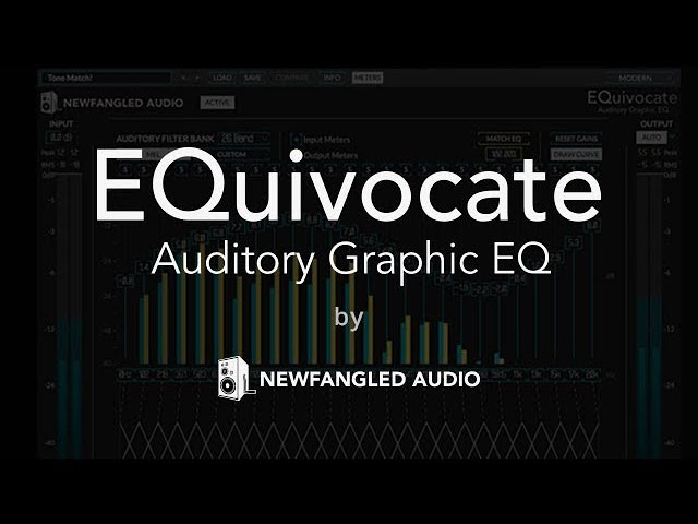 EQuivocate Graphic EQ Plugin by Newfangled Audio