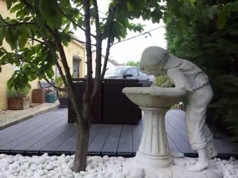 comment faire une terrasse de jardin en palettes diy doovi. Black Bedroom Furniture Sets. Home Design Ideas