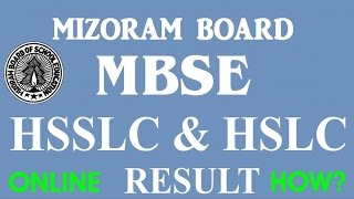 How to see MBSE HSSLC & HSLC Result Online?