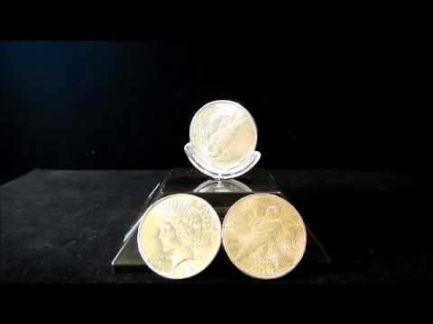 Silver Peace Dollar AU The Phoenix Gold Corporation