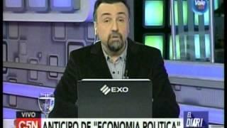 C5N - Programacion: Roberto Navarro y el anticipo de Economia Politica