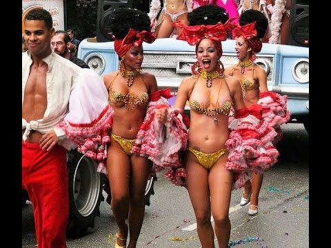 Wild Nightlife Party on the Havana Malecon