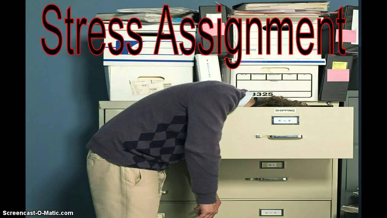 stress assignment