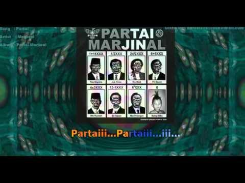 MARJINAL - PARTAI LYRIC