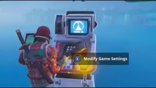 Equipo secreto de Fortnite en modo creativo (Glitch)