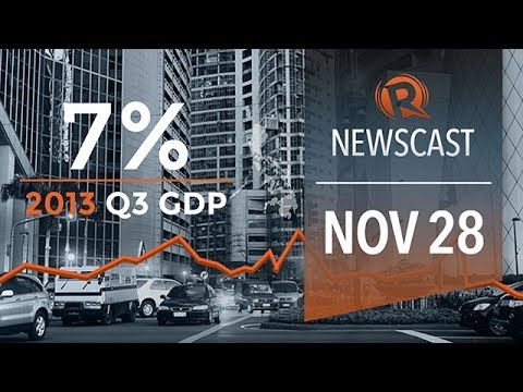Rappler Newscast: PH growth, Power in Bohol, China's carrier in South China Sea