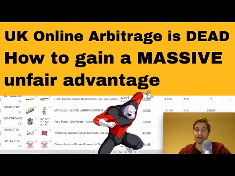 Online Arbitrage in the UK is saturated | How to get a MASSIVE unfair advantage with Amazon FBA