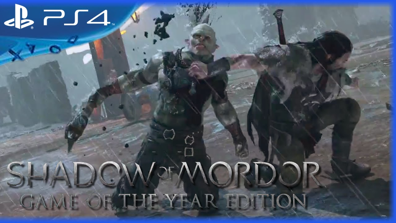 Middle-earth: Shadow Of Mordor Game Of The Year Edition For Mac