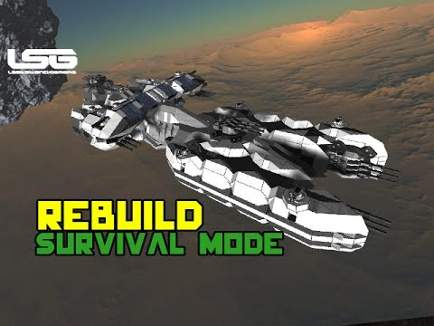 Space Engineers The Original Survival Ship Youtube
