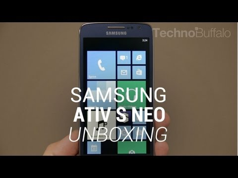 Samsung ATIV S Neo Unboxing