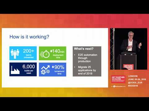 Real-World DevOps Experiences From A 165-year Old Bank - Standard Chartered Bank
