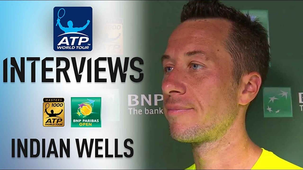 Kohlschreiber Reflects On His Upset Of Cilic In Indian Wells 2018