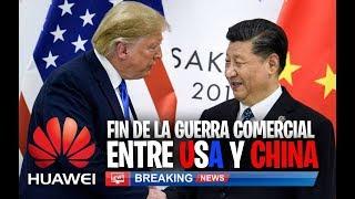 Gambar cover YA ES OFICIAL FIN DE LA GUERRA COMERCIAL entre China y USA PERO el veto a HUAWEI NO HA TERMINADO