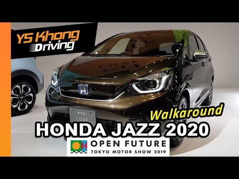 TOKYO MOTOR SHOW 2019: 2020 Honda Jazz/FIT [Walkaround Review] And The Variants