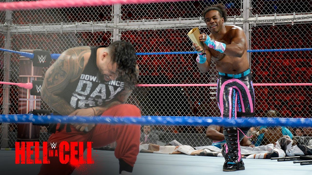 The New Day Punish The Usos With A Host Of Weapons Inside