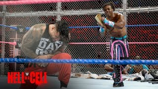 The New Day punish The Usos with a host of weapons inside Hell in a Cell: WWE Hell in a Cell 2017