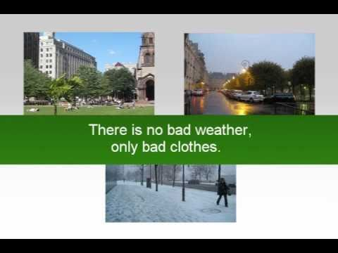 Weather Forecast and Weather Conditions Vocabulary