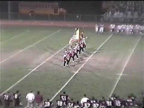 Clifton Mustang Marching Band Oct 13th 2000 (home game)