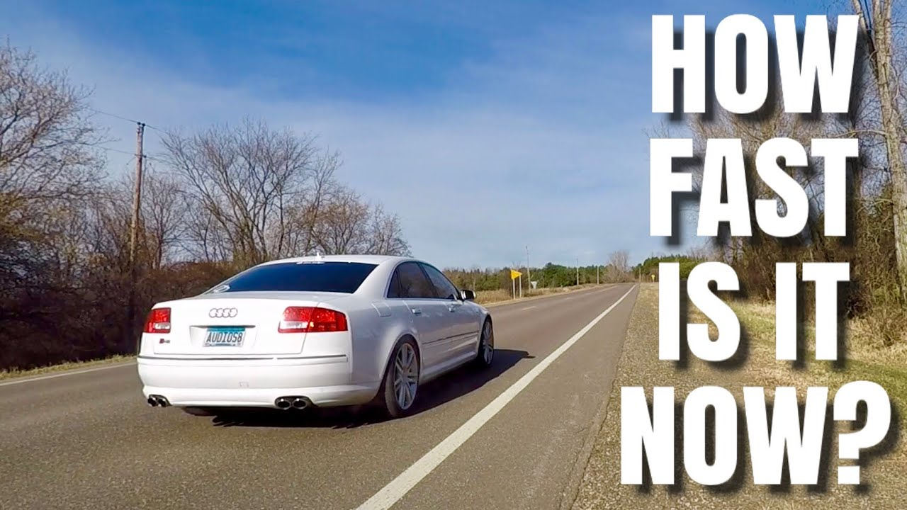 How Fast Is My 11 Year Old Audi S8 V10 F150 0 60 Before Boost