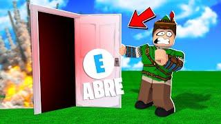 SOBREVIVA AOS DESAFIOS DA PORTA SECRETA DO ROBLOX!!(Horrific Doors)