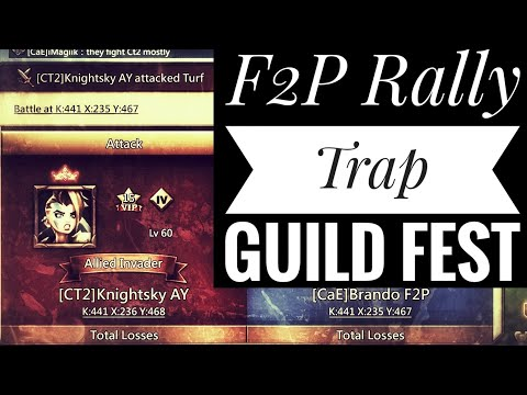 Lords Mobile - F2P Rally Trap And Guild Fest Rewards