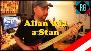 ★ ALLAN WIA A STAN ► WOLFGANG AMBROS - Like a Rolling Stone Cover/SOLO + TABS