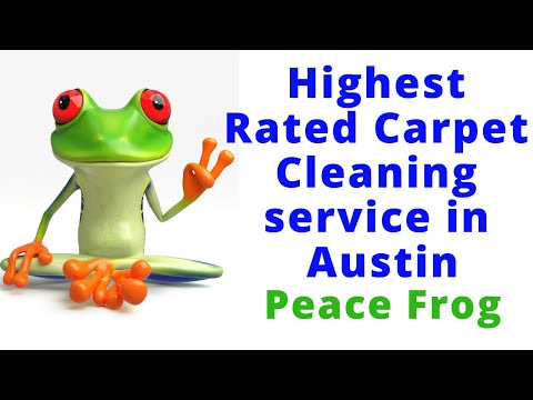 Austin Carpet Cleaning Peace Frog