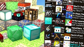 Top 100 Texturepacks ⛏ Minecraft PVP Texturepack/Resourcepack 1.8 | Mr.Mega Man