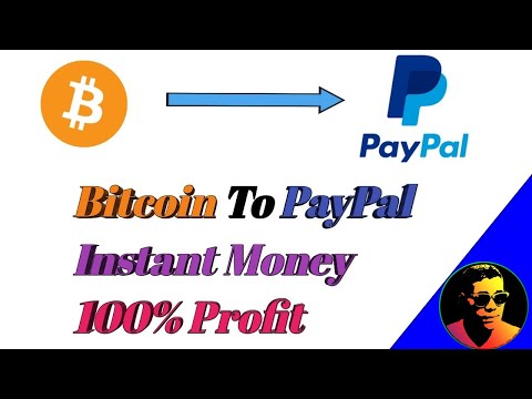 How To Transfer Bitcoin To PayPal Instantly | Low Fees