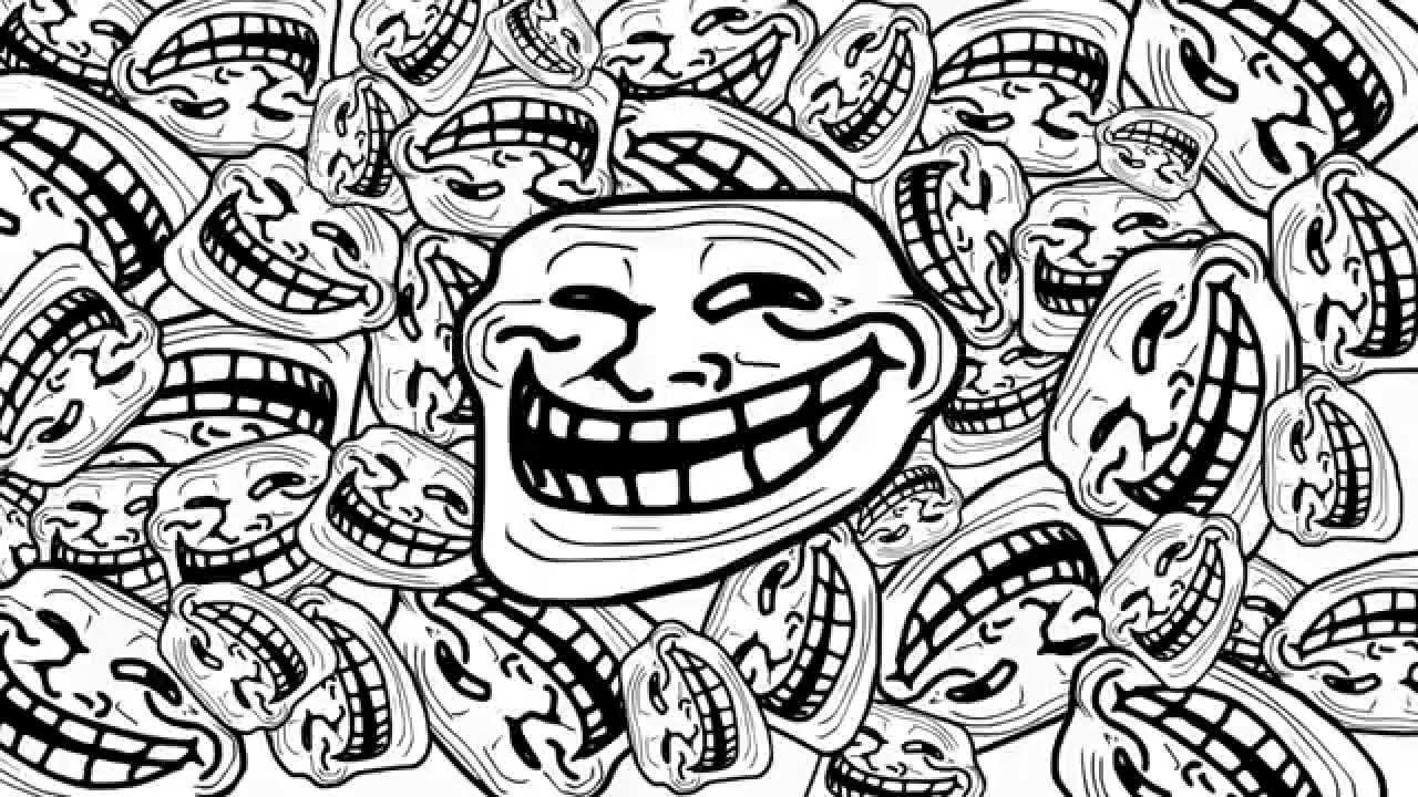The Joker Animated Wallpaper Meme Song The March Of The Troll Face Youtube
