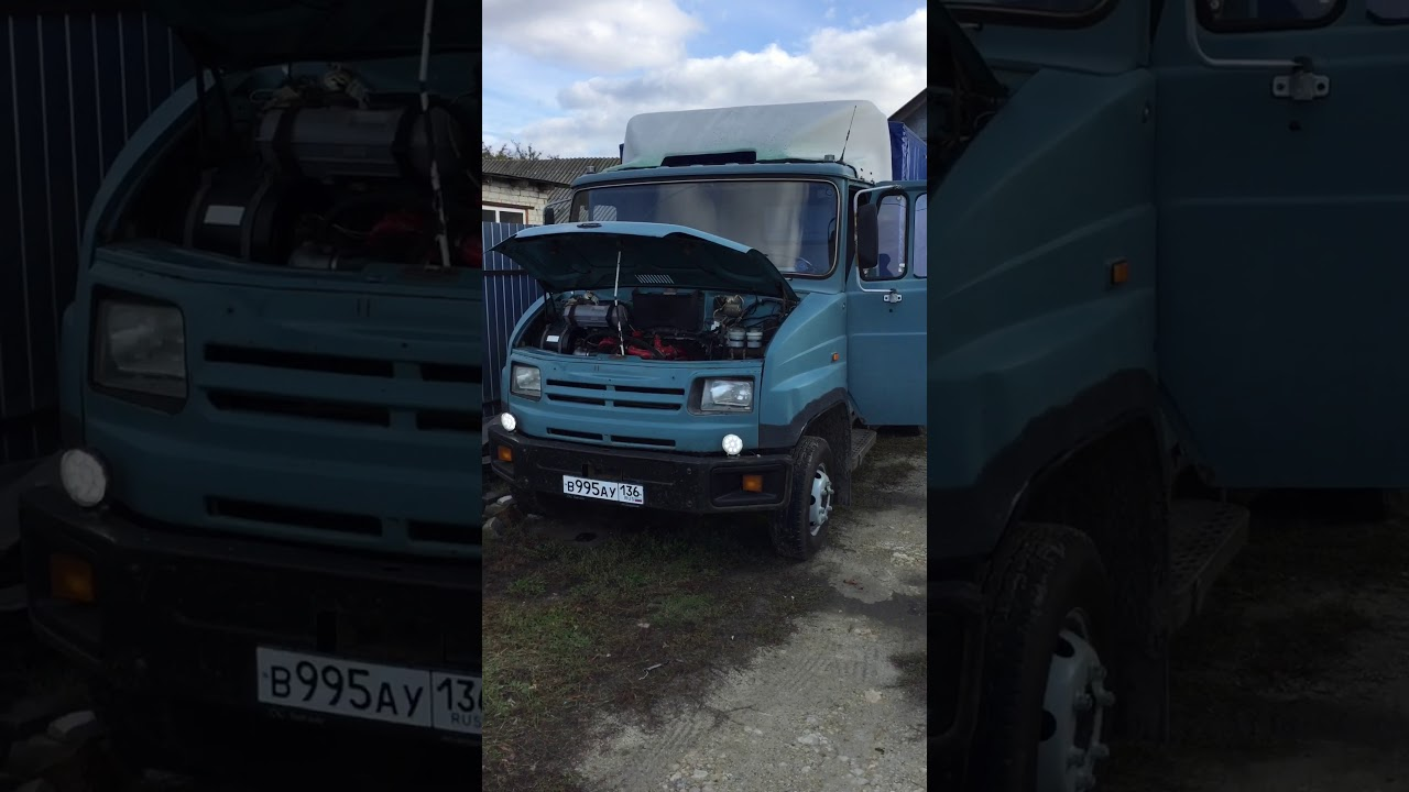 Тест драйв Зил 118К Юность тест драйв. зенкевич - YouTube